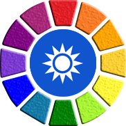 Kleurcircel-sign